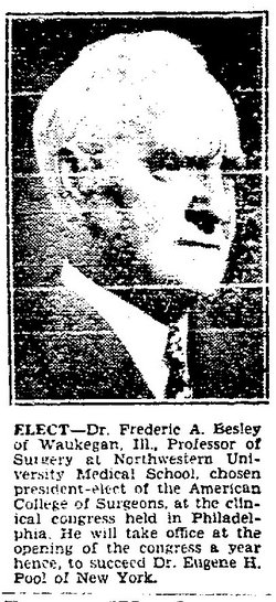 Dr Frederic Atwood Besley