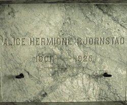 Alice Hermione Bjornstad