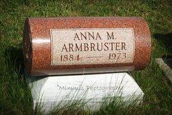 Anna M <i>Leifer</i> Armbruster