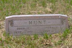 Lura Nicholas <i>Hunt</i> Burford