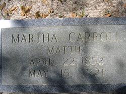 Martha Mattie Carroll