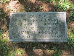 Eva <i>Turner</i> Ashworth