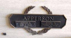 Alfred E Apperson