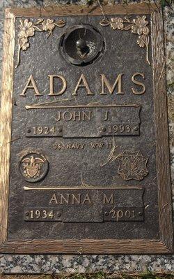 Anna May <i>Zies</i> Adams