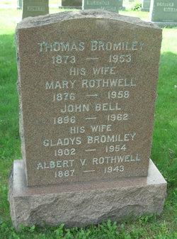 Mary <i>Rothwell</i> Bromiley
