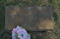 Myrtle Adell <i>Popps</i> Pendleton
