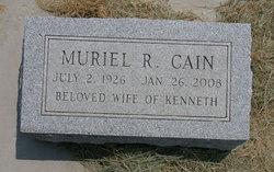 Muriel R <i>George</i> Cain