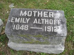 Emma <i>Souder</i> Althoff