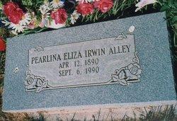 Pearlina Eliza <i>Irwin</i> Alley