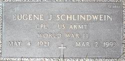 Corp Eugene J Schlindwein