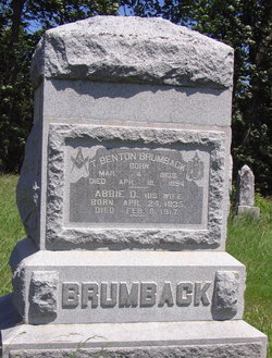 Abigail Daniels Abbie <i>Southwick</i> Brumback