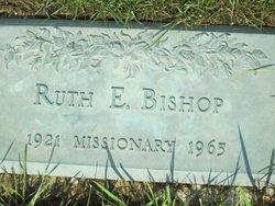 Ruth E <i>Hower</i> Bishop