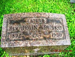 Rev Fr John Krusko