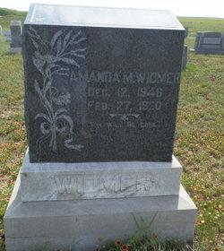 Amanda Melvina <i>Sherman</i> Widmer