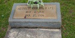 Audrey Marion Rape