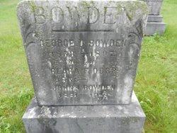 Clara Frances <i>Dorr</i> Bowden