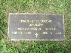 Paul E Gene Tedrow