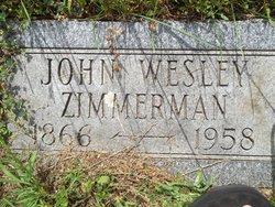 John Wesley Zimmerman