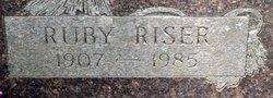 Ruby <i>Riser</i> Terral