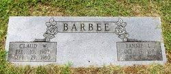 Fannie Lee <i>Basden</i> Barbee