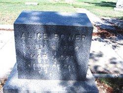 Alice <i>Friel</i> Bower