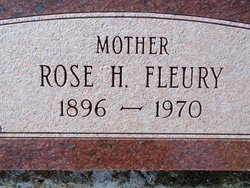 Rose <i>Heaney</i> Fleury