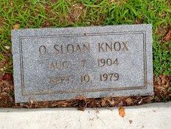 Ossie <i>Sloan</i> Knox