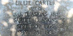 Lillie Melissa <i>Carter</i> Askins