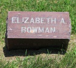 Elizabeth Ann <i>Byles</i> Bowman
