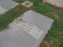 Eleanor <i>Vittum</i> Adams
