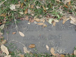 Beatrice B Bates
