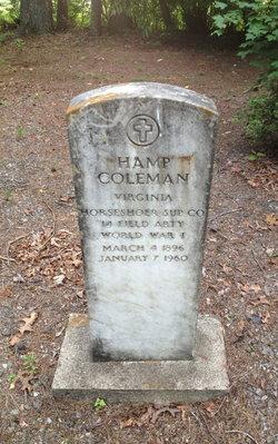 Hampton H. Hamp Coleman