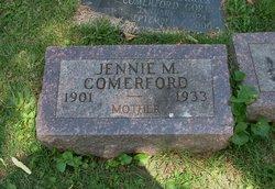 Jennie May <i>Lewis</i> Comerford