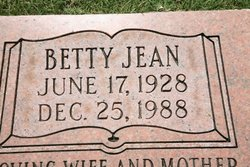 Betty Jean Billings
