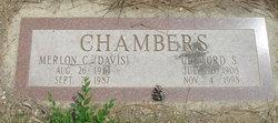 Merlon C. <i>Davis</i> Chambers