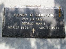 Henry D Carlson