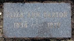 Eliza Ann Barton