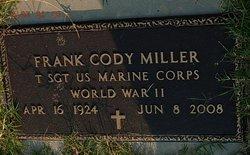 Frank Cody Miller
