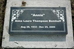 Anna Laura Annie <i>Thompson</i> Bomhoff