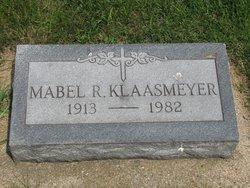 Mabel R. <i>Stoddard</i> Klaasmeyer