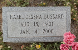 Hazel Marie <i>Cessna</i> Bussard