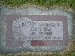 Bettsy R Anderson