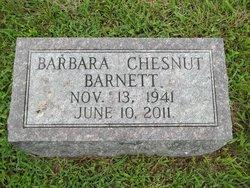 Barbara Ann <i>Chesnut</i> Barnett