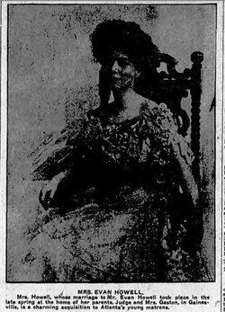 Georgia Taylor <i>Gaston</i> Dickinson