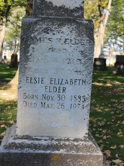 Elsie Elizabeth Elder