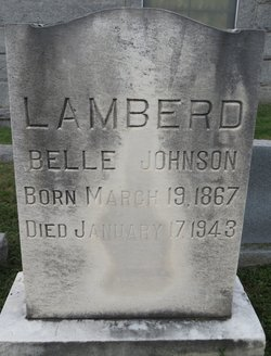 Belle <i>Johnson</i> Lamberd