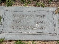 Madge Alwilda <i>Mann</i> Leaf