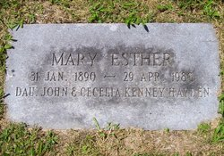 Mary Esther Hayden