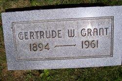 Gertrude <i>Warren</i> Grant