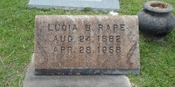 Sallie Lucia <i>Brantley</i> Rape